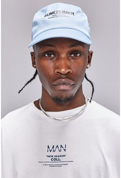 Blue MAN Summer Cap