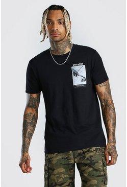 Black Empathy Print T-Shirt