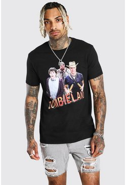 T-shirt Zombieland officiel, Noir