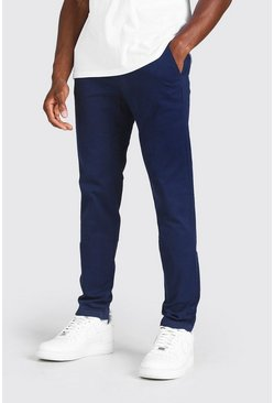 Navy Skinny Fit Chino Trouser