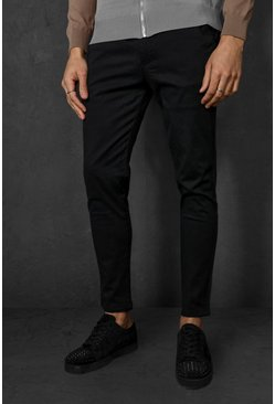Black Super Skinny Chino Trouser