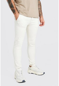 Stone Super Skinny Chino Trouser