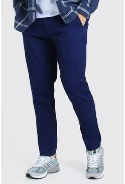 Navy Slim Fit Chino Trouser