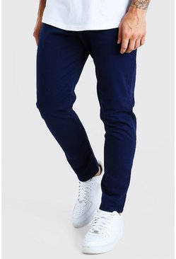 Navy Tapered Fit Chino Pants