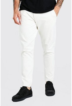 Stone Tapered Fit Chino Trouser
