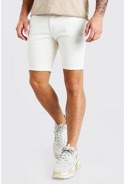 Stone Super Skinny Fit Chino Short