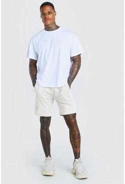 Stone Oversized MAN Official T-Shirt & Short Set
