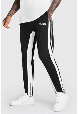 Black Official MAN Regular Fit Tricot Jogger