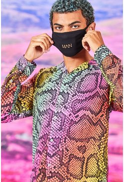Black MAN Dash Fashion Mask