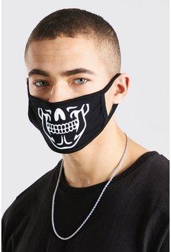 Black MAN Skeleton Fashion Mask
