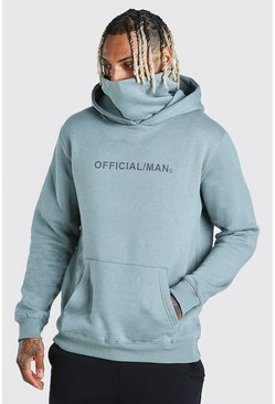 Sage Man Official Snood Hoodie
