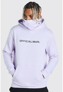 Orchid Man Official Snood Hoodie
