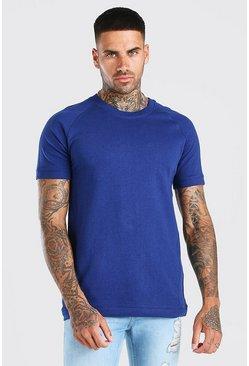 Navy Short Sleeve Sweatshirt
