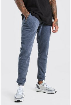 Charcoal Slim Fit Jogger With Side Zips