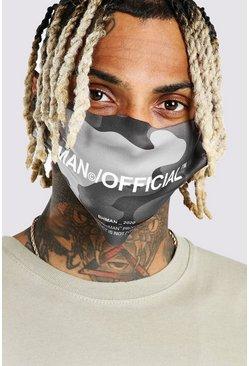 Grey MAN Official Camo Fashion Mask