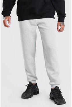 Grey Basic Loose Fit Jogger