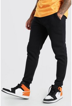 Black Basic Skinny Fit Joggers