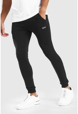 Black MAN Dash Super Skinny Joggers