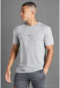 Grey MAN Active Fabric Interest T-Shirt