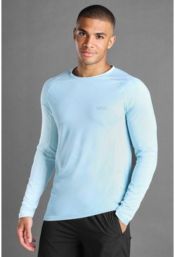Blue MAN Active Compression Long Sleeve T-Shirt