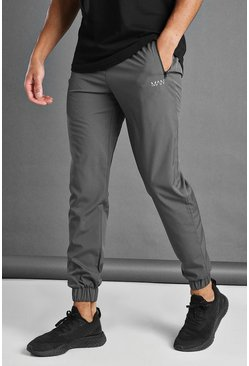 Charcoal MAN Active Tapered Jogger With MAN Waistband