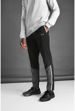 Black MAN Active Super Skinny Contrast Jogger