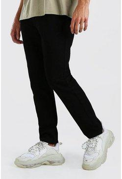 Black Slim Rigid Jeans