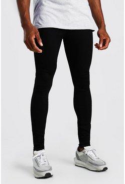 Black Spray On Skinny Jeans