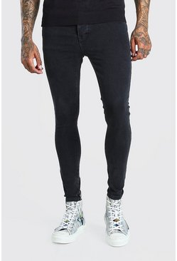 Charcoal Spray On Skinny Jeans