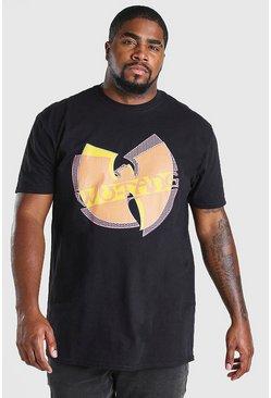 Black Big & Tall Wu-Tang License T-Shirt
