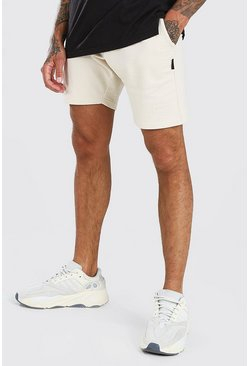 Stone Basic Mid Length Jersey Short