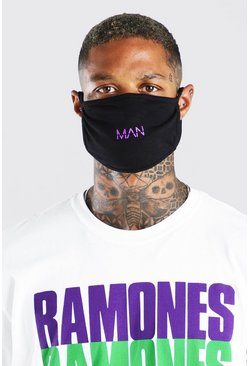 Purple MAN Dash Reversible Fashion Mask