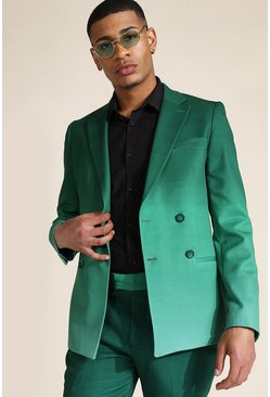 Skinny Green Ombre Suit