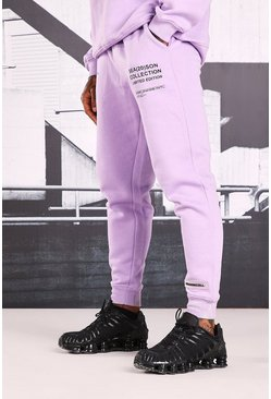 Lilac Official Man Print Joggers