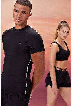 Black His Active Compression T-Shirt
