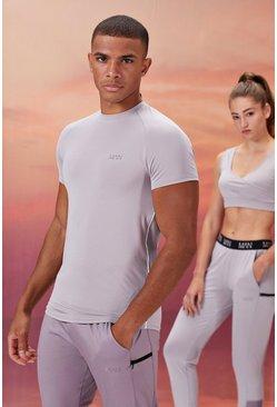 Grey His Active Compression T-Shirt