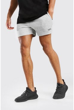 Grey marl ORIGINAL MAN SHORT LENGTH SHORT