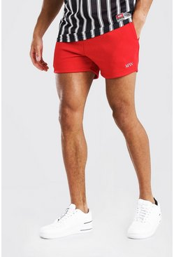 Red ORIGINAL MAN SHORT LENGTH SHORT