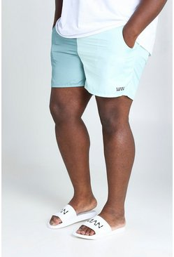 Sage Big & Tall MAN Colour Block Mid Length Swimshort