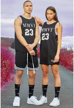 Black His Airtex Vest Basketball Set