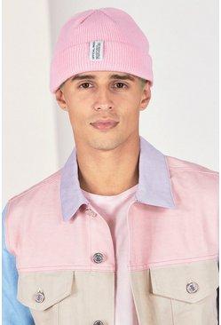Pink Micro Beanie