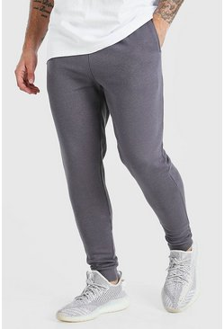 jogging skinny basique, Anthracite :