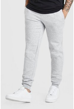 Grey Tapered Fit Joggers