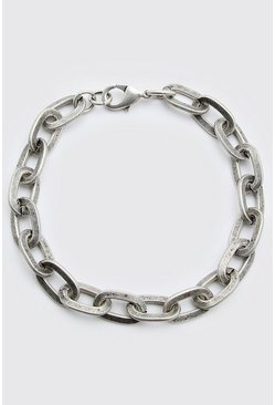 Silver Chunky Chain Bracelet