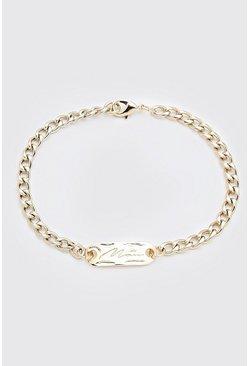 Gold MAN Bracelet