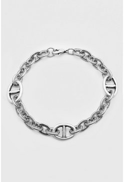 Silver Chunky Link Chain Bracelet
