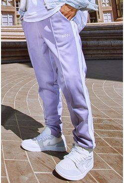 Violet Original MAN Tricot Jogger With Side Tape