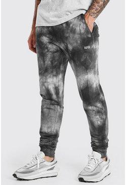 Black Original MAN Regular Fit Tie Dye Jogger