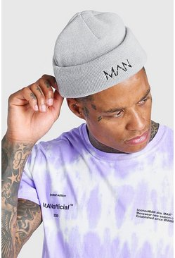 Grey MAN Dash Mini Beanie