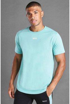 Aqua MAN Basic Curved Hem T-Shirt